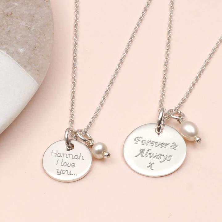af0f416e199 Heart Disc Necklace - ShopStyle UK