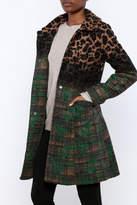 Luii Plaid Three Button Coat