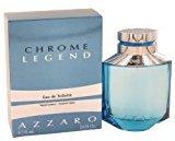 Azzaro Chròme Légend Còlogne For Men 2.6 oz Eau De Toilette Spray