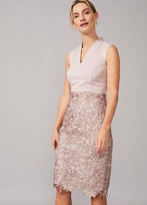 Phase Eight Aletta Lace Fitted Dress
