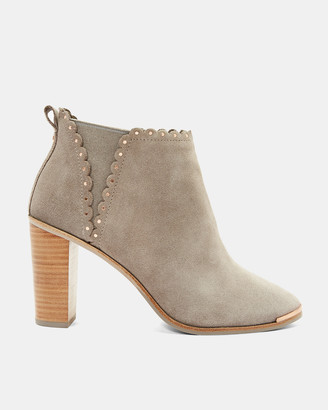 Ted Baker NURELY Scallop stud detail heel boots