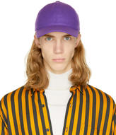 Ami Alexandre Mattiussi Purple Wool Cap
