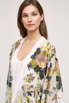 Anthropologie Terceira Velvet Kimono