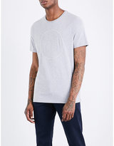 Michael Kors Logo-embroidered Cotton-blend T-shirt