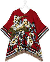 DSQUARED2 printed poncho