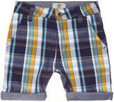 Timberland Boys Checked Bermuda Shorts