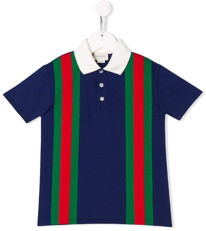 d4576bc4f Gucci Blue Polo Shirts For Boys - ShopStyle UK