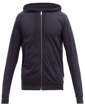 Paul Smith Signature Stripe Zip-through Hooded Sweatshirt - Navy