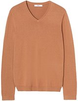 Find Men's Knitted V-Neck Jumper