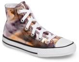 Converse Girl's Chuck Taylor All Star Metallic High Top Sneaker