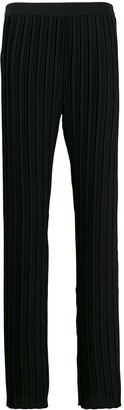 Victoria Victoria Beckham Pleated Straight Trousers