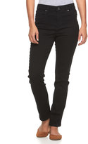 Gloria Vanderbilt Petite Bridget Slim Straight-Leg Jeans