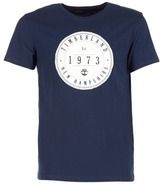 Timberland SS KENNEBEC RIVER APPLIQUE LARGE ROUND BADGE TEE MARINE