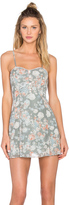 BCBGeneration Floral Fit and Flare Dress