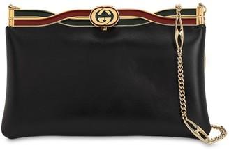 Gucci BROADWAY LEATHER SHOULDER BAG