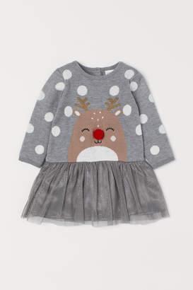 H&M Dress with Applique