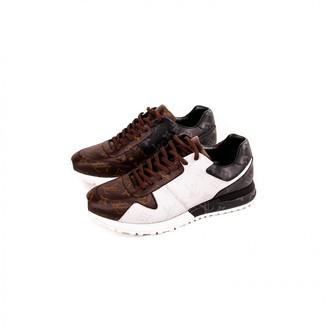 Louis Vuitton Run Away Brown Cloth Trainers