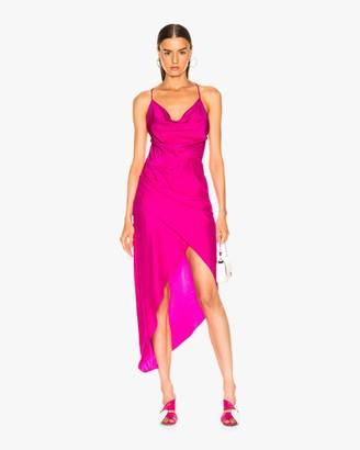 HANEY Neon Holly Dress