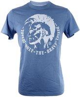 Diesel Mens T-Ulysse Graphic T-shirts M Blue