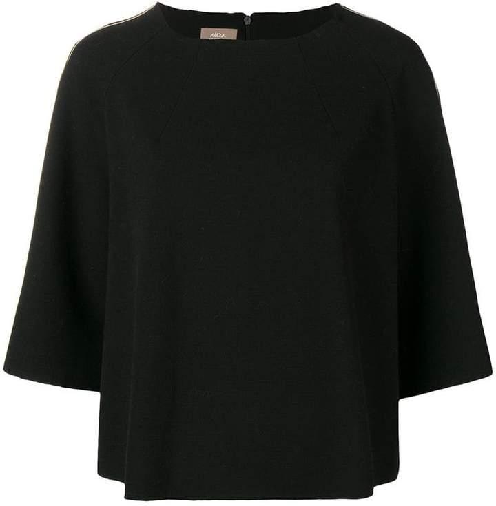 Altea contrast blouse