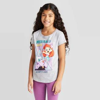 Princess Girls Disney Princess Girls' Ariel vs Ursula T-Shirt -