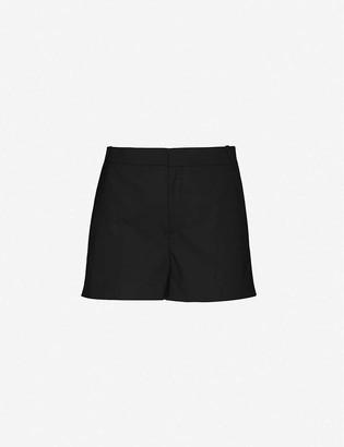 Designers Remix Marley high-rise stretch-twill shorts