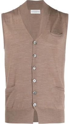 Ballantyne Sleeveless Knitted Vest