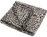 Accessorize Snow Leopard Faux Fur Throw