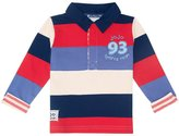 Jo-Jo JoJo Maman Bebe Striped Rugby Top (Baby) - Red-18-24 Months