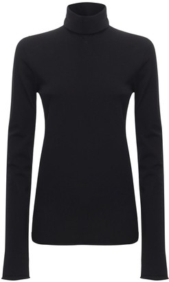 Bottega Veneta Light Jersey Turtleneck Top