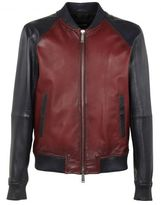 DSQUARED2 Jogging Leather Jacket