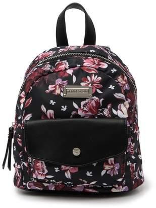 Madden-Girl Mini Floral Nylon Backpack