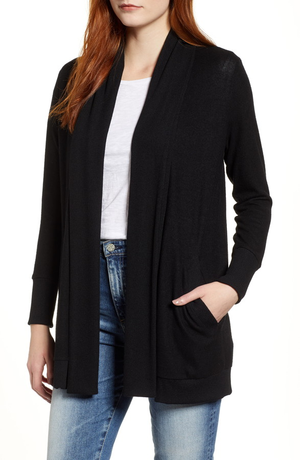 Gibson Cozy Ribbed Cardigan
