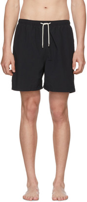 Solid And Striped Solid and Striped Black Classic Swim Shorts