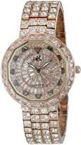 Adee Kaye Women's AK2425-LCF TRILLION STAR COLLECTION Analog Display Analog Quartz Rose Gold Watch