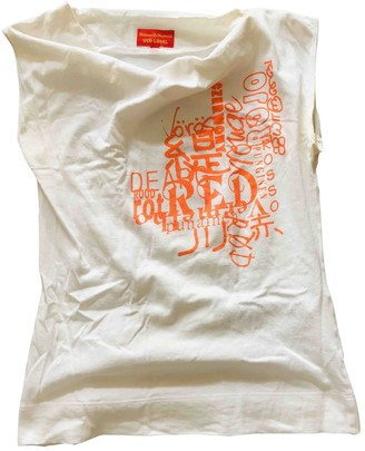 Vivienne Westwood White Cotton Top for Women