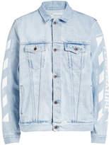 Off-White Oversized Denim Jacket