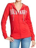 Old Navy Women's Logo Zip Hoodies