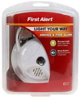 First Alert Smoke Alarm with Escape Light in White