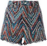 IRO embellished shorts - women - Cotton/Acrylic/Polyester - 38