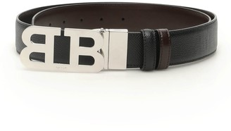 Bally Reversible Mirror B Buckle Belt