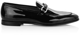Salvatore Ferragamo Tai Patent Leather Loafers