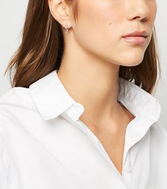 New Look 2 Pack Mini Hoop Earrings