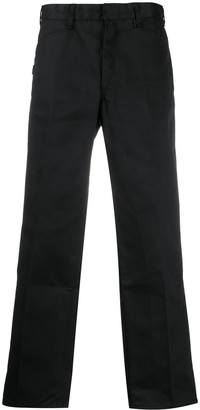 Neighborhood Pleat Detail High-Waisted Trousers