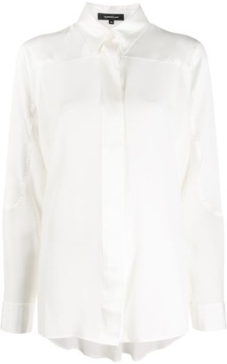 Barbara Bui Pearl silk shirt