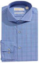 Michael Michael Kors Slim-Fit Plaid Dress Shirt