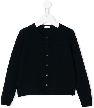 Il Gufo Relaxed-Fit Crew Neck Cardigan