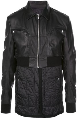 Rick Owens Padded Belted Jacket