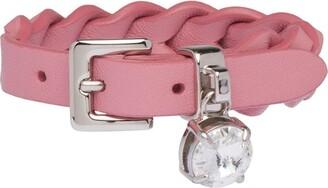 Miu Miu Woven nappa leather bracelet