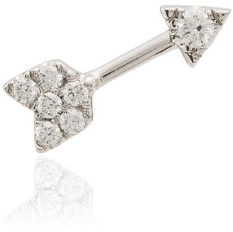 Roxanne First Cupid Bow 14kt diamond earring